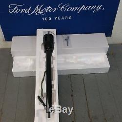 1967 1970 Ford Mustang 32 Black Floor Shift Tilt Steering Column No Key