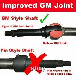 1967 1972 Chevy Truck Push Button Start Steering Column tilt chrome 32