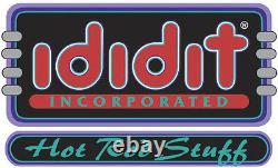 1967-68 Chevelle Ididit Floor Shift Black Tilt Steering Column 1120680051