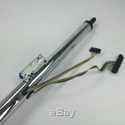 1967-72 Chevy Chevelle 33 Chrome Tilt Steering Column KEYED Floor Shift gm LSX