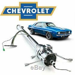 1967-81 Chevy Camaro 33 Chrome Tilt GM Shift Steering Column L48 427 7.0l Yenko