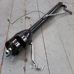 1968 1977 Chevrolet Chevelle Black Tilt Steering Column No Key Column Shift