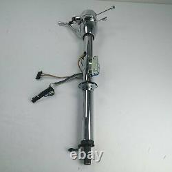 1968-72 Chevy Nova 33 Chrome Tilt Steering Column KEYED COL Shift GM Hot Rod V8