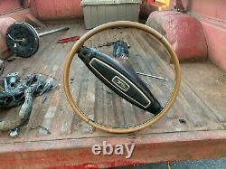1968 Cougar and Mustang Collapsable Steering Column NON-TILT-Used