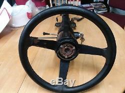 1969 1976 Corvette Tilt & Telescoping Steering Column Black