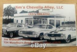 1969 70 71 72 NOS CHEVELLE TILT STEERING COLUMN FLOOR SHIFT GTO, GS, Camaro