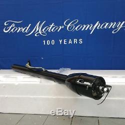 1970 Ford Mustang 32 Black Tilt Steering Column No Key Floor Shift auto trans