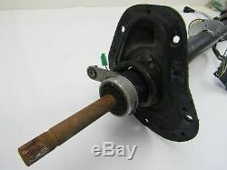 1973-1981 CHEVY VAN 10/20/30 TILT STEERING COLUMN key in dash 1967-72 truck swap