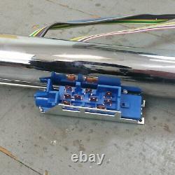 1978 1987 El Camino 33 Chrome Tilt Steering Column KEYED Floor Shift gmc gm
