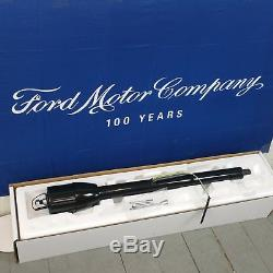 1980 1986 Ford Truck or Bronco Black Tilt Steering Column No Key Floor Shift