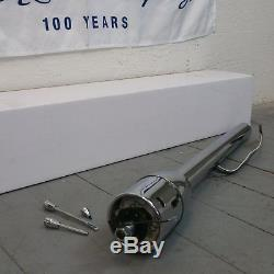 1980 1991 Ford Truck 32 Chrome Tilt Steering Column No Key Floor Shift trans