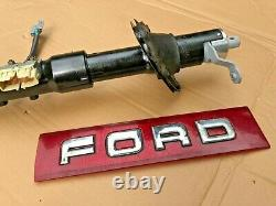 1987-1991 Ford F-150 F-250 REBUILT STEERING COLUMN NON-tilt AUTO Transmission