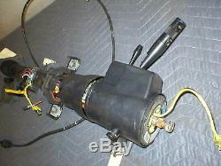 1990 91 1992 Camaro Firebird Tilt Steering Column + Key & Vats Box, Cruise, Delay