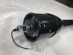 30 Black Stainless Tilt Steering Column Floor Shift NO Ignition Key GM Hot Rod