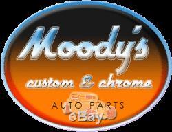 30 Chrome Tilt Steering Column no key Manual floor shift polished accessories