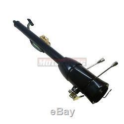 32 Black Stainless Manual Floor Shift Tilt Steering Column With ignition KEY GM