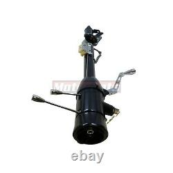 32 Black Stainless Tilt Steering Column Shift With Ignition Key Automatic GMChevy