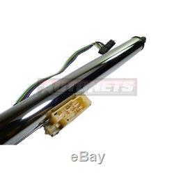 32 Chrome stainless Tilt Steering Column Manual Floor Shift +Ignition Key Chevy