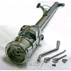 33 Chrome Steel Tilt Column Shift Steering Column Shift Indicator GM Adapter
