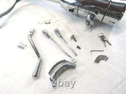 35 Tilt Steering Column Automatic With Key & Wheel Adapter Chrome BPS-1038