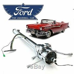 49-59 Ford EDSEL Chrome Tilt Steering Column Shift 33 MEL 6.7l Fairlane Corsair