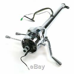 53-60 GM A-Body 33 Chrome 3-Position Tilt Steering Column Shift 210 Bonneville