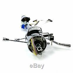 53-60 GM A-Body Chrome Tilt Steering Column Keyed 33 stovebolt I8 Turbo Fire V8