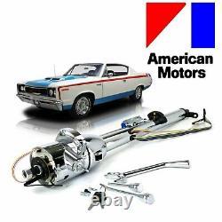 58-87 AMC Keyed Tilt Steering Column Shift GM 33 Chrome l-head pacer v6 amx 327