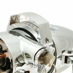 60 61 62 63 64 65 66 Chevy Truck Chrome Tilt Steering Column COL Shift Manual