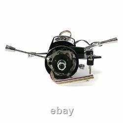 62-67 Chevy II Nova Keyed Black Tilt Steering Column GM 33 SS V8 Z03 Powerglide