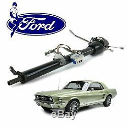64-78 Ford Mustang Keyed Black Tilt Steering Column 33 Windsor Boss 302 390 429