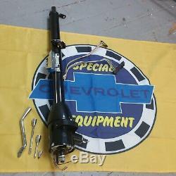 67 68 69 70 71 72 Chevy C10 Truck Tilt Column Shift Steering 33 Black