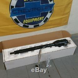 67 68 69 70 71 72 Chevy C10 Truck Tilt Floor Shift Steering Column Black