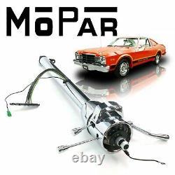 76-80 Mopar F-Body 33 Chrome Tilt Steering Column SHIFT A999 4-Barrel Volare RT