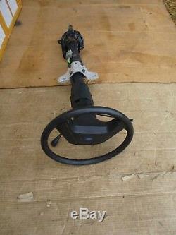 87-91 Bronco or F Series OEM Black Steering Wheel & Shift Column & Keys witho Tilt