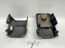 95 Nissan Pickup Steering Column Cover Black No tilt D21 Truck 94-95 Pathfinder