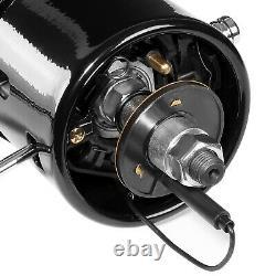 Black 28 MT Munual Floor Shift Hot Rod Tilt Steering Column for 55-59 Chevy GM