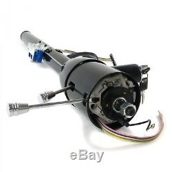 Black 32 Tilt Steering Column with Ignition Key column Shift GM Chevy Pontiac