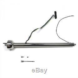 CHROME 30 Street Rod Non Tilt Steering Column Floor Shift GM Universal Hot Rod