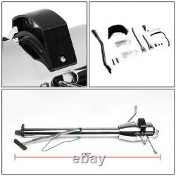Chrome 30Tilt Automatic AT Hot Rod Steering Column Shifter For 55-59 Chevy GM