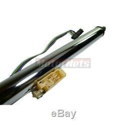 Chrome Stainless 32 Floor Shift Tilt Steering Column Ignition Key GM Universal