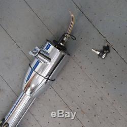 Chrome Tilt Steering Column 1967 1979 Ford Truck 33 KEYED Floor Shift
