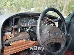 FORD E150 ECONOLINE VAN TILT STEERING COLUMN With AUTO TRANS OVERDRIVE WithKEY