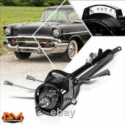 For 55-59 Chevy GM Automatic Shift Hot Rod Tilt 32 Long Steering Column Black
