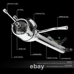 For 55-59 Chevy GM Steering Column Shifter Hot Rod 28 Long Tilt Automatic Style