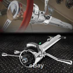 For 55-59 Chevy Gm Floor Shift Hot Rod 32tilt Automatic Style Steering Column