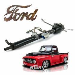 Ford Truck F1 1948-56 Keyed Black Tilt Steering Column 33 bbf power king F2 F3