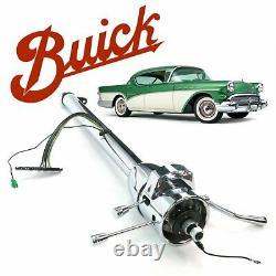GM C-Body 54-60 Tilt Steering Column Shift 33 Chrome Fireball 6200 OHV Deville