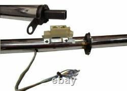 Hot Rod Chrome Tilt Auto Automatic Style Steering Column 32 GM With Key