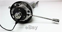 Hot Rod Steering Column 32 Inch Black Straight Non-tilt + Eng Report Ford Chev
